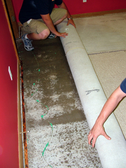 Fire and Water Damage Restoration Hollywood Florida - Ron's Carpet System